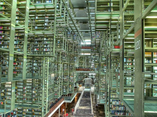 Vasconcelos Library Mexico City