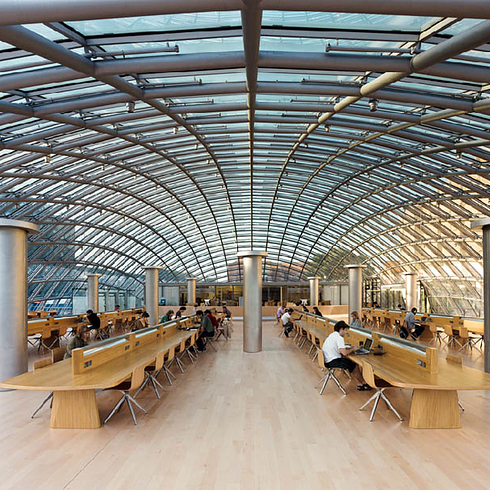 Joe and Rika Mansueto Library,