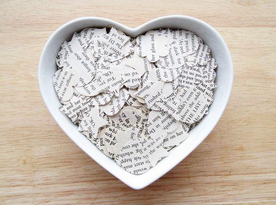 book confetti