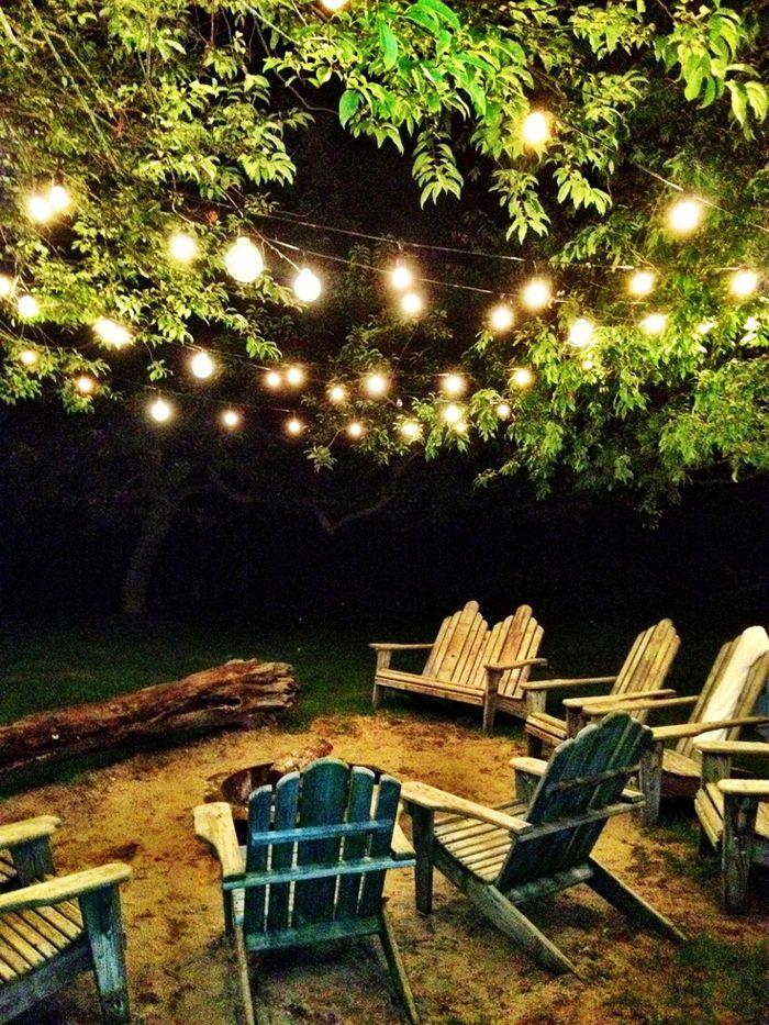 outdoor night reading