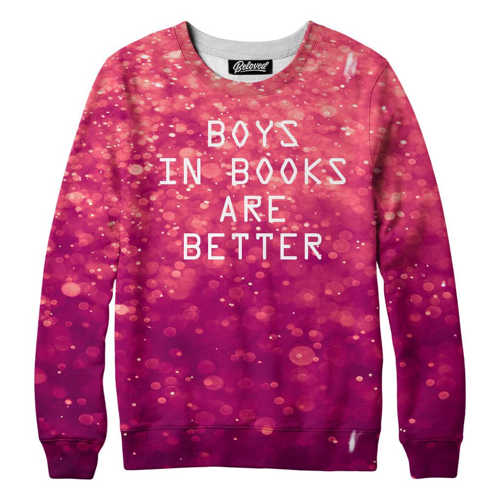 boys in books tshirt