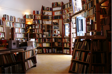 cave of books