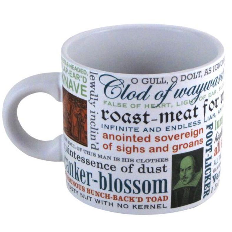 shakespearean mug