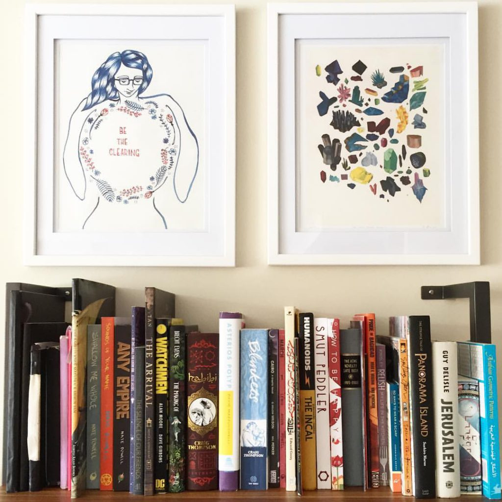 Graphic Novel Shelf