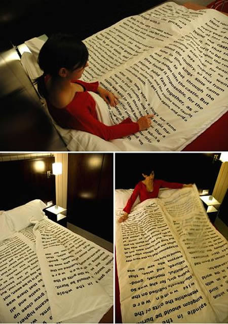 sheets as storybooks