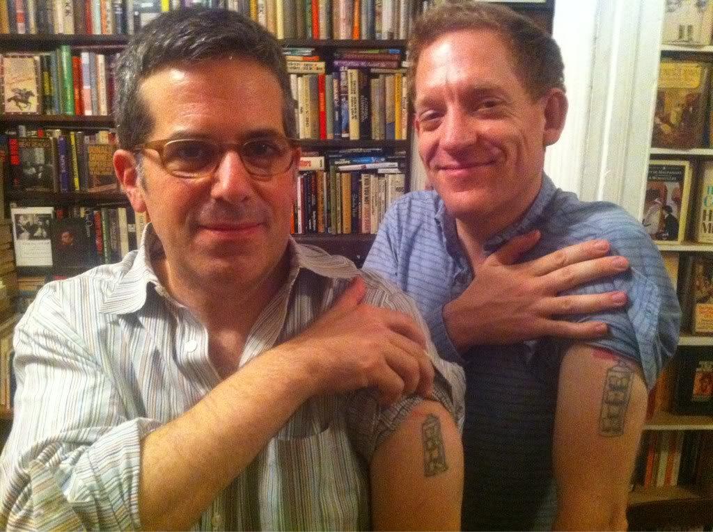 Jonathan Lethem tattoo