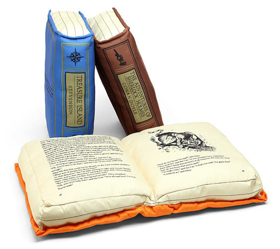 books that are pillows