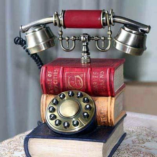 phone from books
