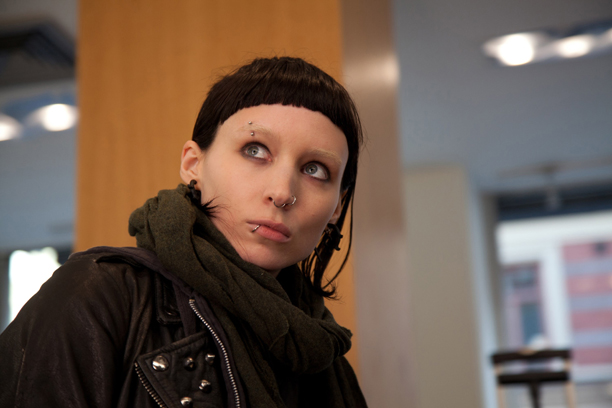 THE GIRL WITH THE DRAGON TATTOO, Rooney Mara, 2011. ph: Baldur Bragason/©Columbia Pictures/Courtesy Everett Collection