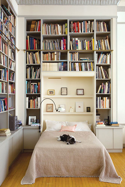 murphy bed shelfie
