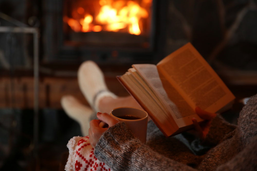 fireplace reading