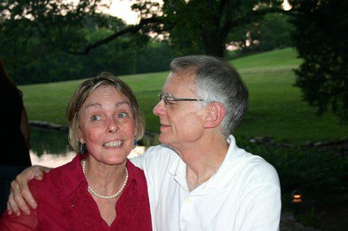Kim's parents Linda and Gurney. (Photo courtesy of the author)