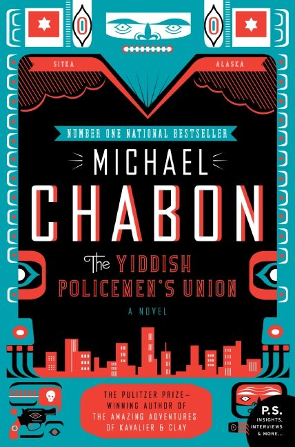 The cover of the book The Yiddish Policemen's Union