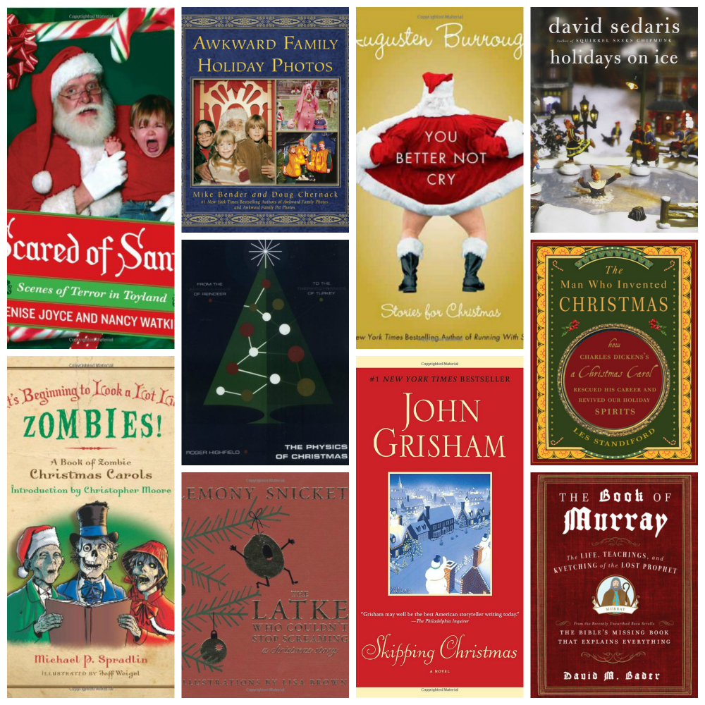 unusual holiday books