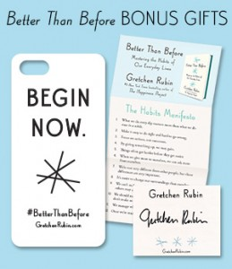 better than before by gretchen rubin bonus gifts