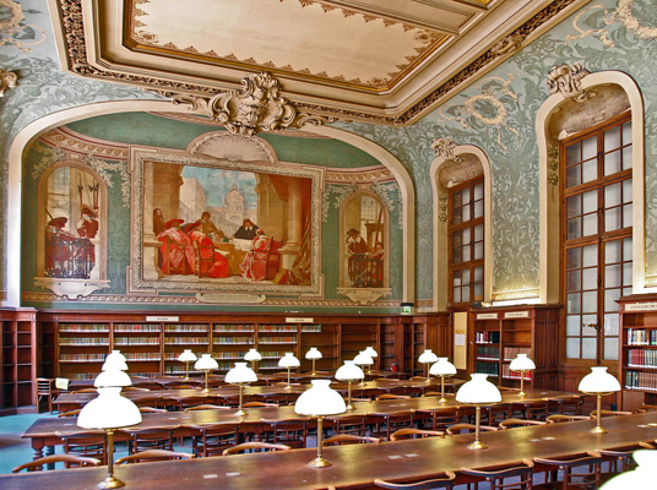 la sorbonne library