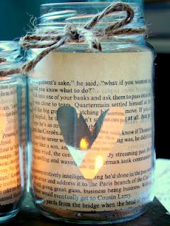 literary candle