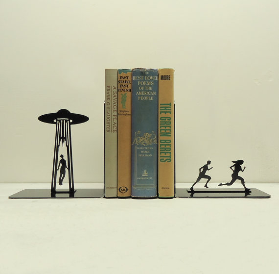 alien abduction book ends