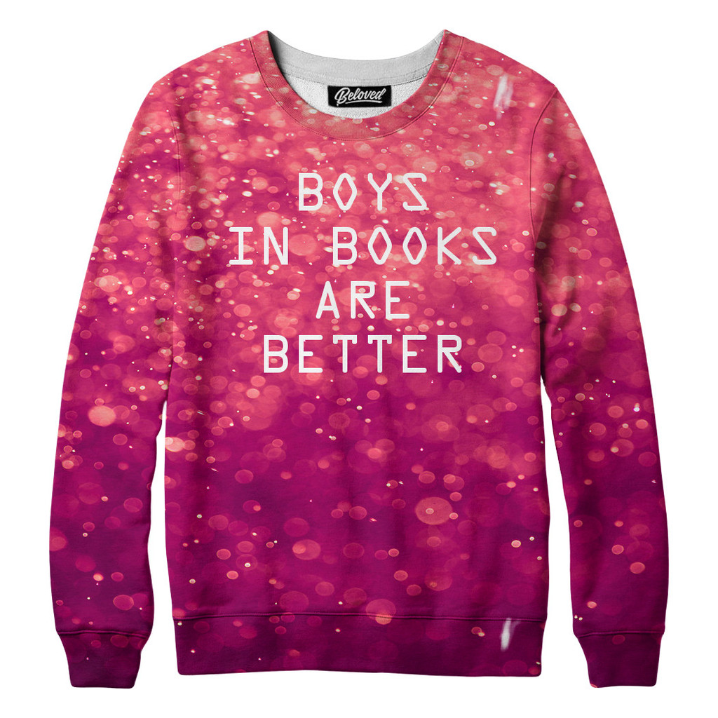 boys in books tshirt