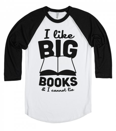 i like big books tshirt