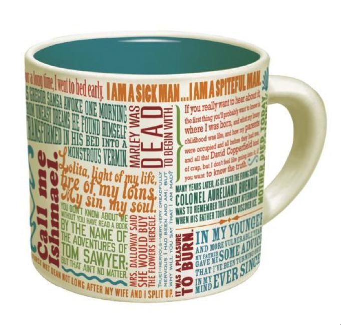 literary mug