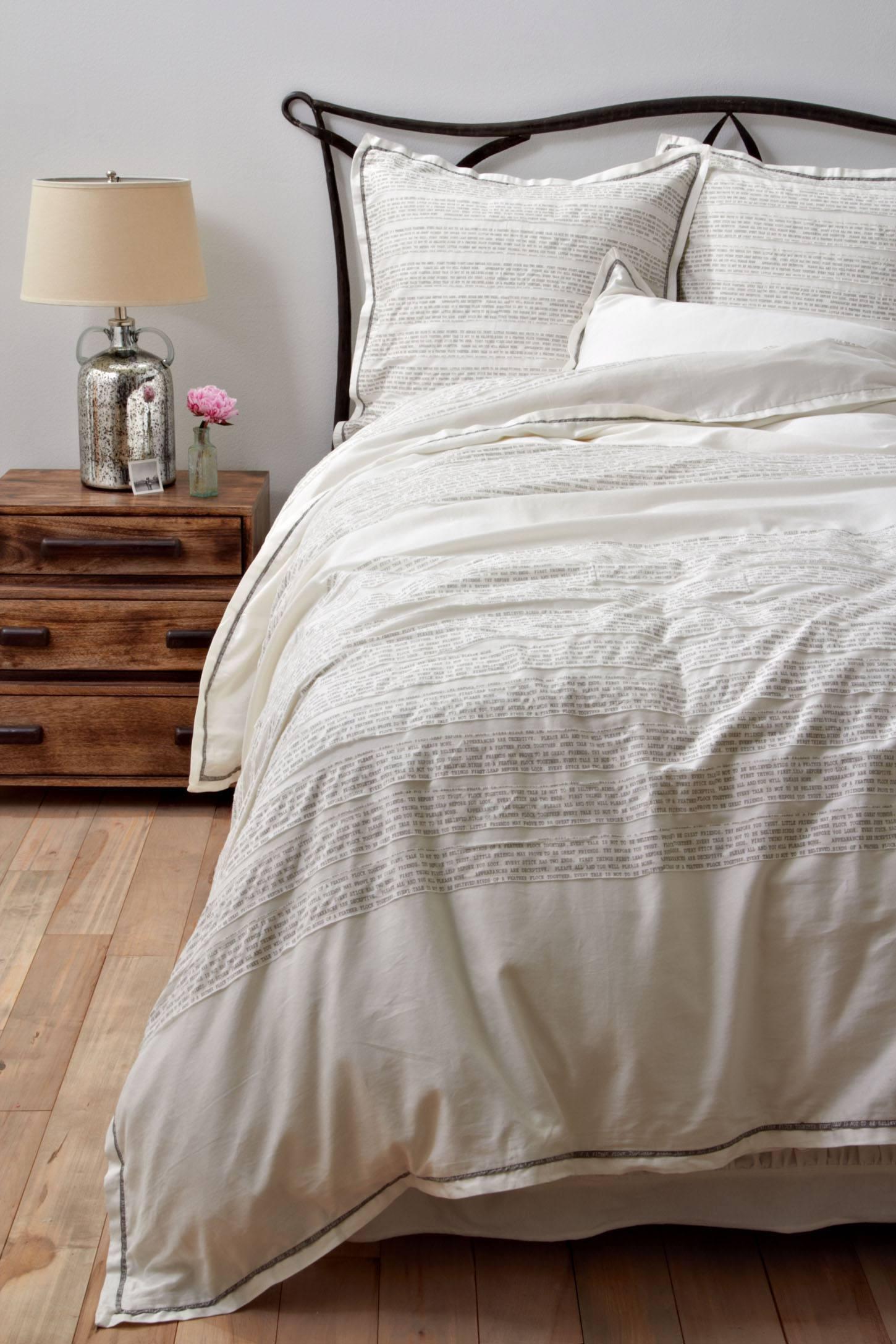 aesop bedspread