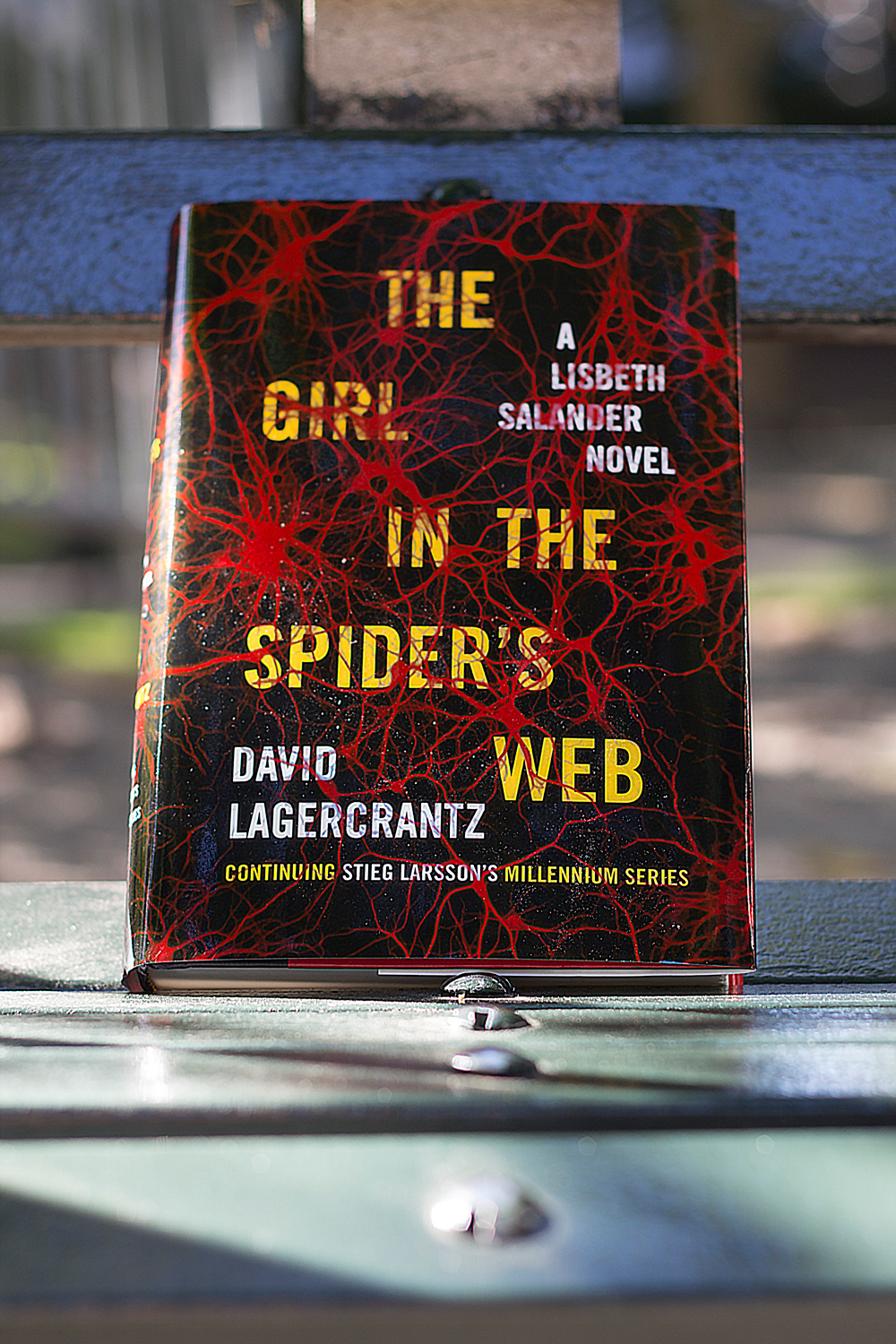 The Girl in the Spiders Web David Lagercrantz