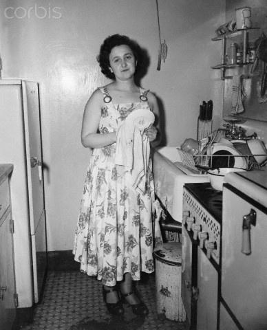 ethel in her kitchen