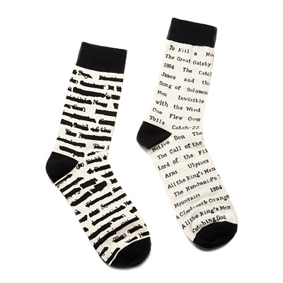 banned book socks