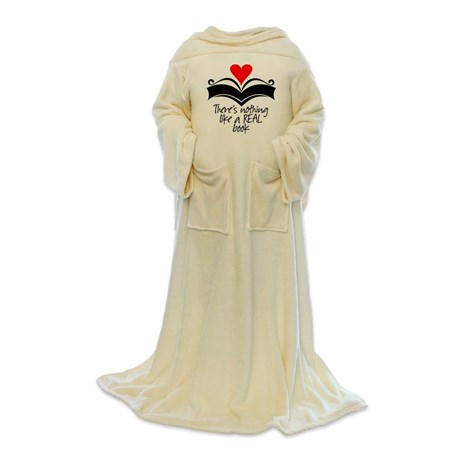 book reading robe