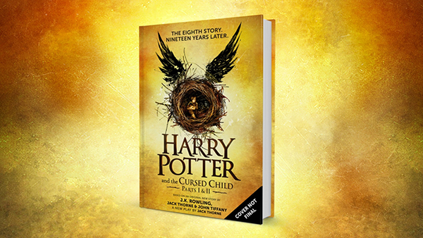 harry potter cursed child j.k. rowling