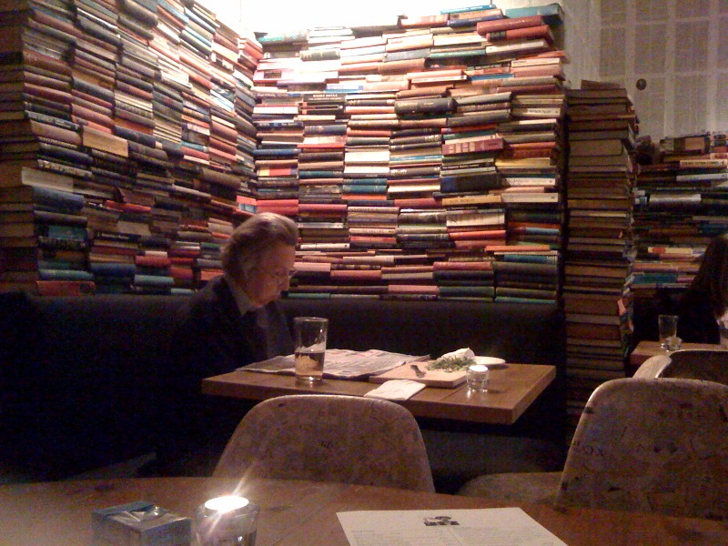 book bar reading
