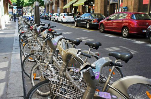 Vélib' bikesharing station, Parisby mariordo59CC BY-SA 2.0