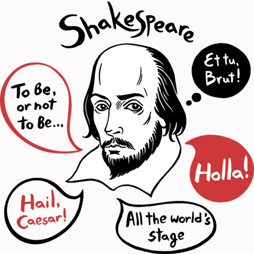 books based on Shakespeare