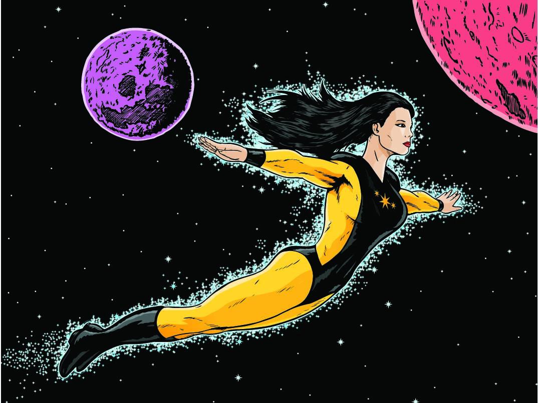 Science Fiction Heroine