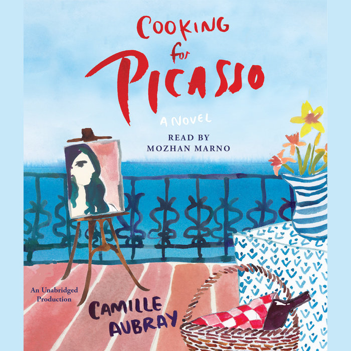 The cover of the book Cooking for Picasso