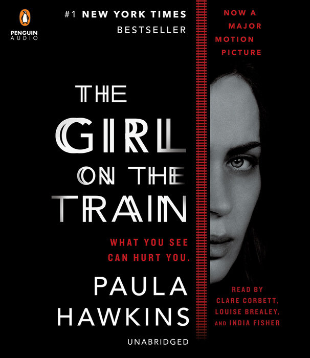 The cover of the book The Girl on the Train