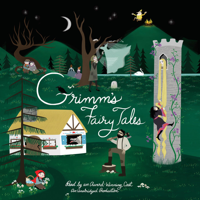 The cover of the book The Complete Grimm's Fairy Tales