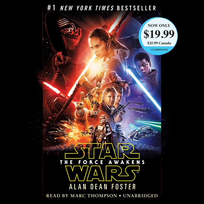 The cover of the book Star Wars: The Force Awakens