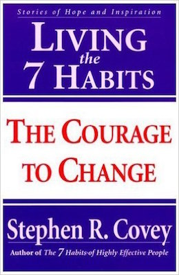 The cover of the book Living the 7 Habits