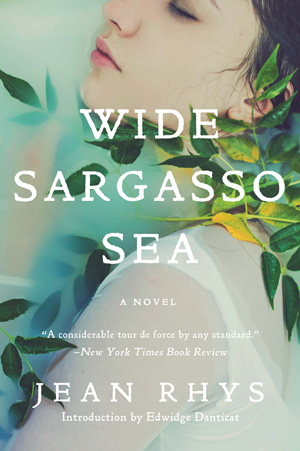 The cover of the book Wide Sargasso Sea