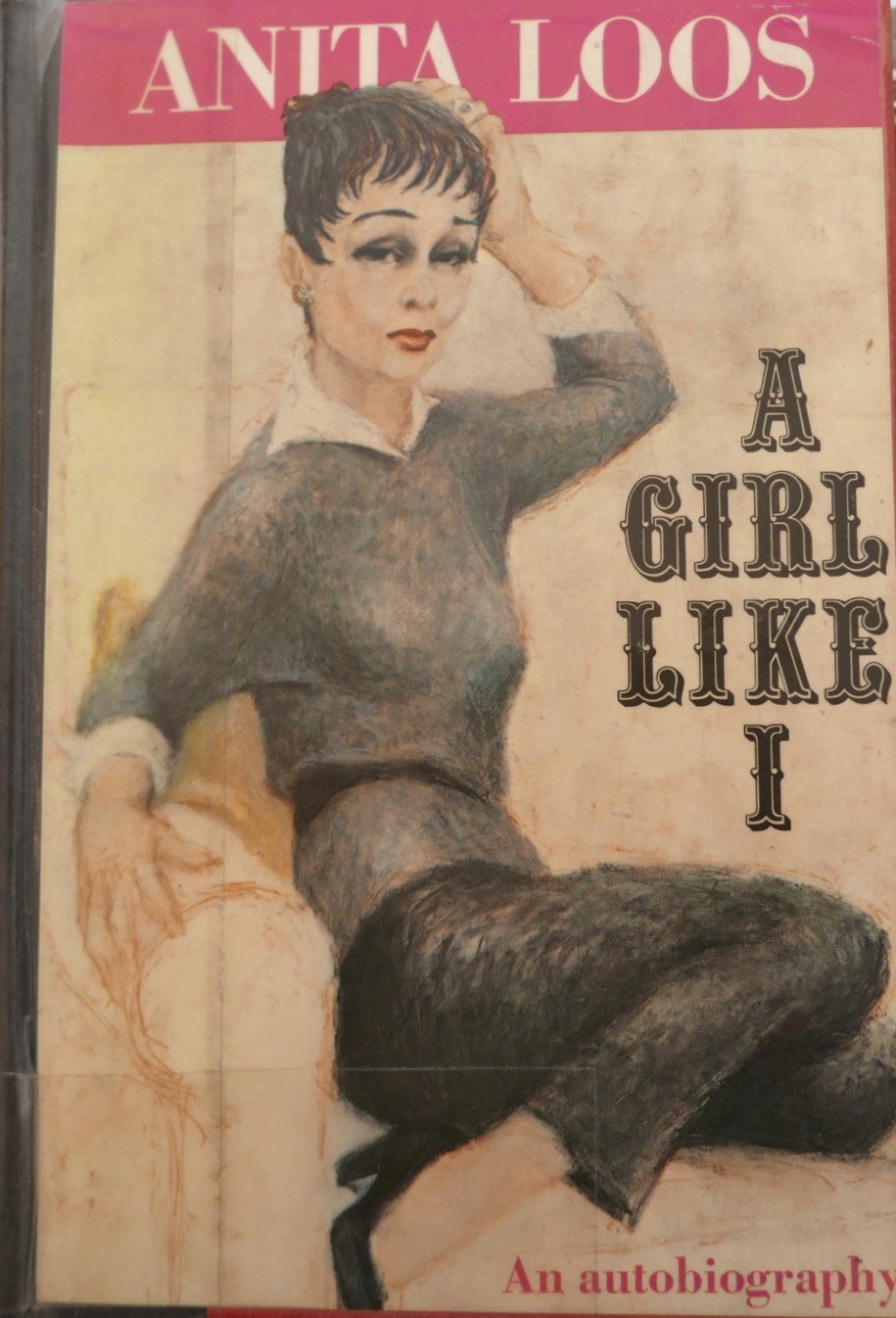 The cover of the book A Girl Like I