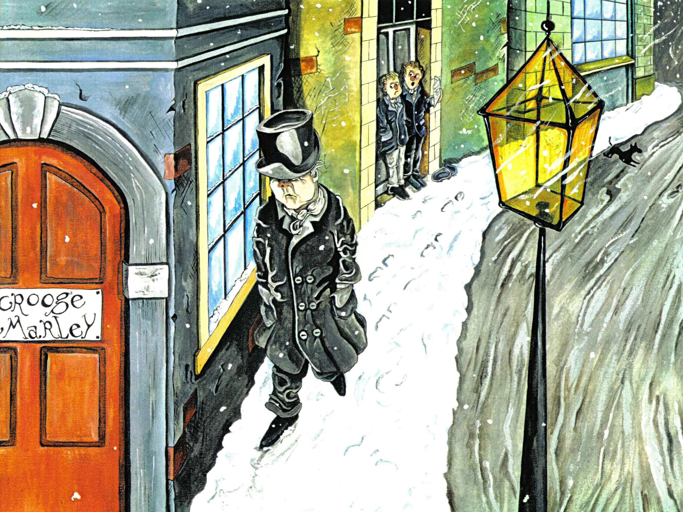 The Story Behind Charles Dickens' A Christmas Carol   Read It Forward