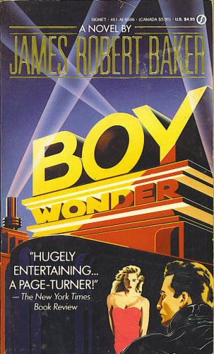 The cover of the book Boy Wonder