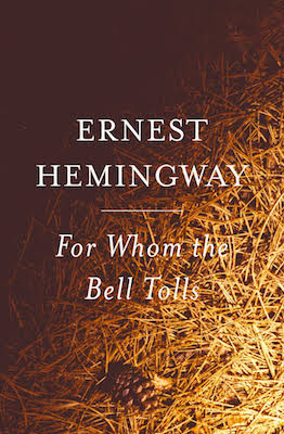 The cover of the book For Whom the Bell Tolls