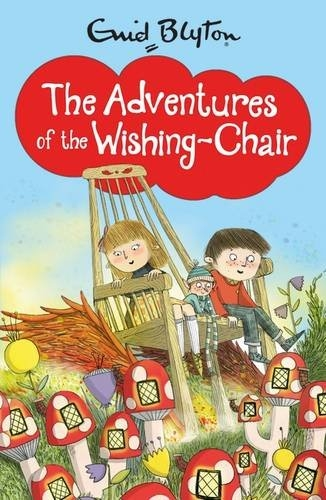 The cover of the book The Adventures of the Wishing-Chair