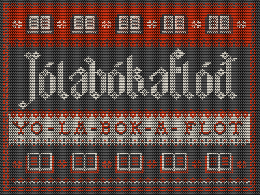 Christmas In La.Jolabokaflod Meet Your Favorite New Christmas Eve Tradition