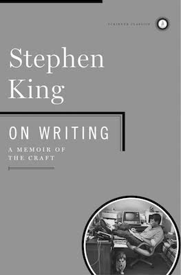The cover of the book On Writing