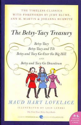 The cover of the book The Betsy-Tacy Treasury