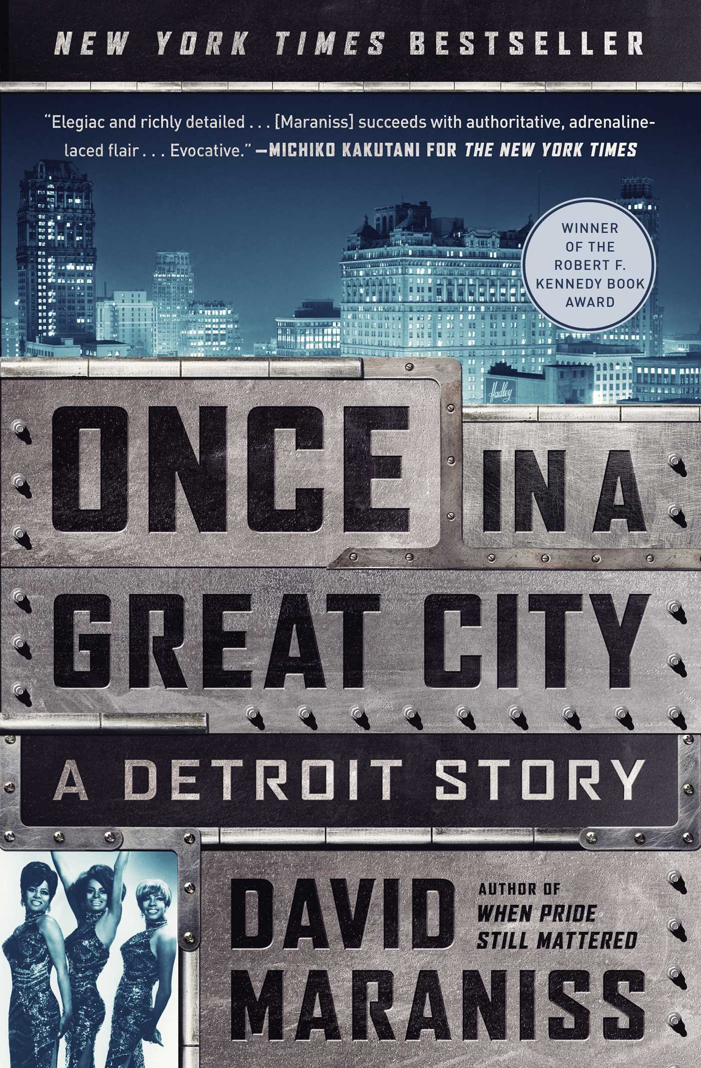 The cover of the book Once in a Great City